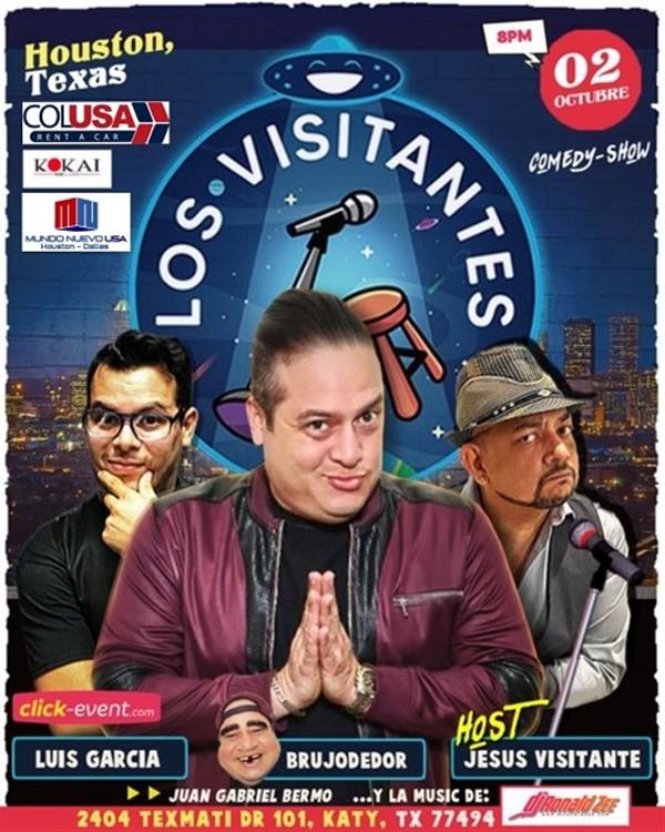 Humor y Rumba Los Visitantes - katy TX