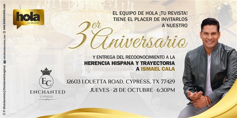 Gran Gala de Aniversario Hola ¡Tu Revista!