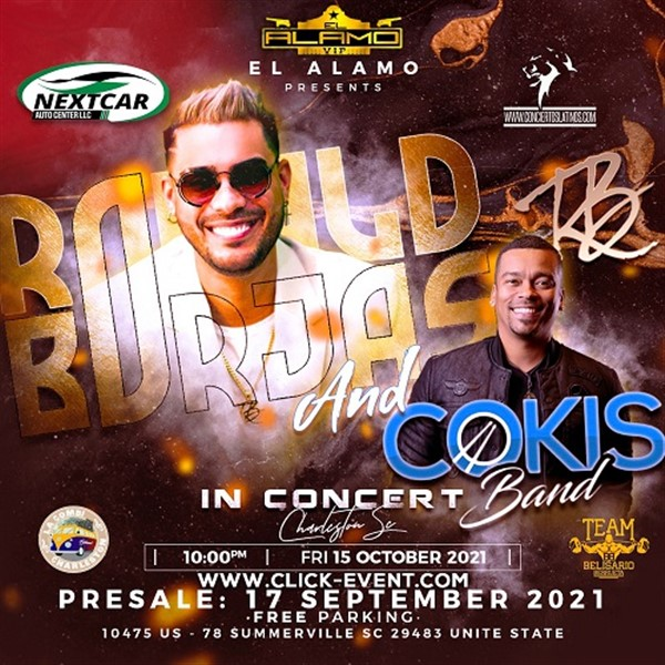 Ronald Borjas & Cokis Band in Concert - Summerville SC