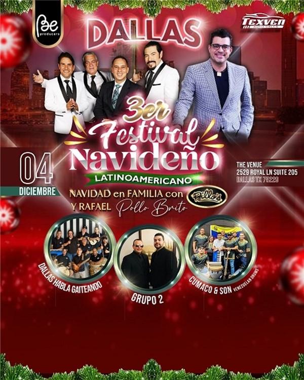 3ra Edición del Festival Navideño Latinoamericano - Dallas TX