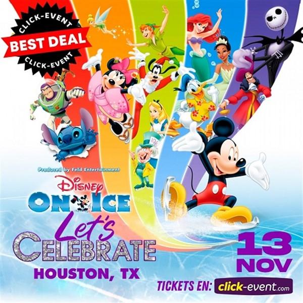 Disney On Ice presents Let's Celebrate - Houston