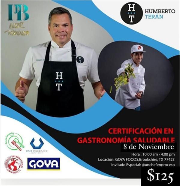 Get Information and buy tickets to Porque comer saludable NO debe ser aburrido - Humberto Terán - Brookshire TX  on www.click-event.com