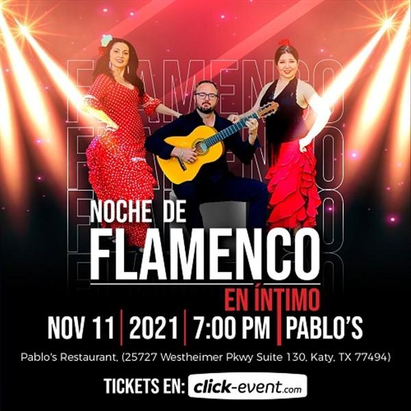 Noche de Flamenco en Intimo - Katy TX