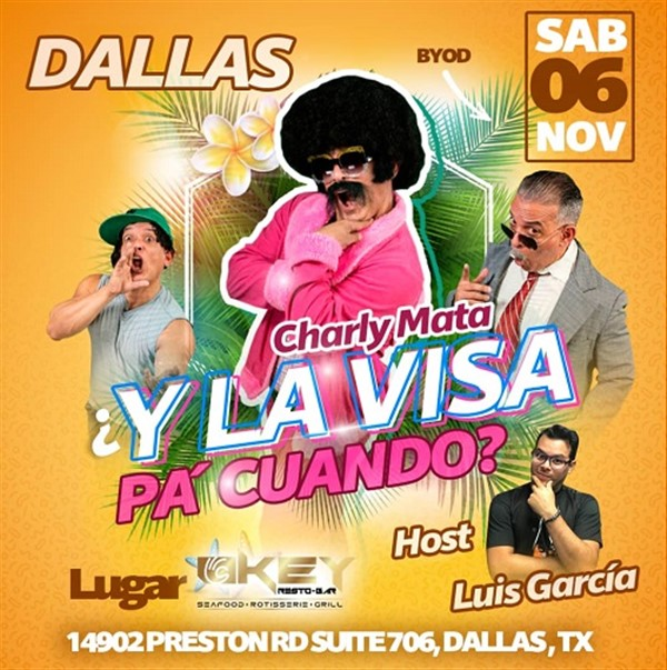 Charly Mata en Dallas TX