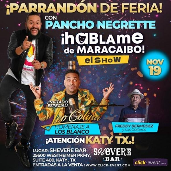 Parrandón de Feria con Pancho Negrette - Katy Tx
