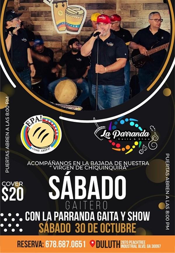 Get Information and buy tickets to Sábado Gaitero con la Parranda Gaita y Show - Duluth GA  on www.click-event.com