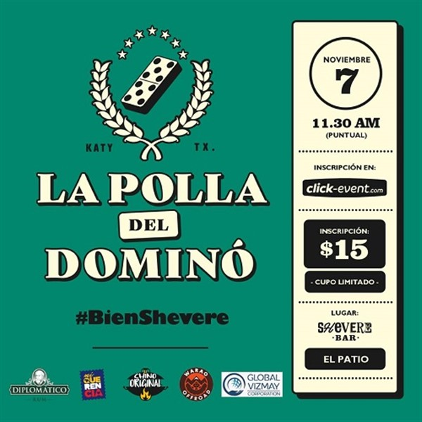 Get Information and buy tickets to La Polla del Domino - Shevere Bar - Katy TX  on www.click-event.com