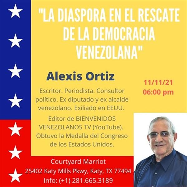 Get Information and buy tickets to La Diáspora en el Rescate de la Democracia en Venezuela - Katy TX  on www.click-event.com