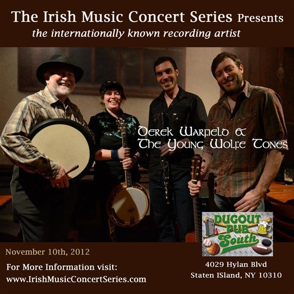 Get Information and buy tickets to Derek Warfield and The Young Wolfetones  on IrishMusicConcertSeries