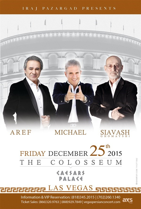 Get Information and buy tickets to LAS VEGAS CONCERT  on 08 Tickets