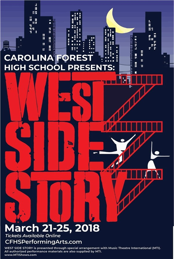 Get Information and buy tickets to West Side Story  on Carolina Forest High School Performing Arts