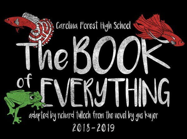 Get Information and buy tickets to The Book of Everything South Carolina Theatre Association Award Winning Play on Carolina Forest High School Performing Arts