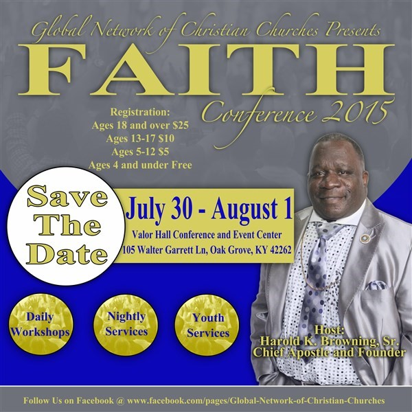 Get Information and buy tickets to GNCC Faith Conference 2015  on www.ticketor.com/faithconference