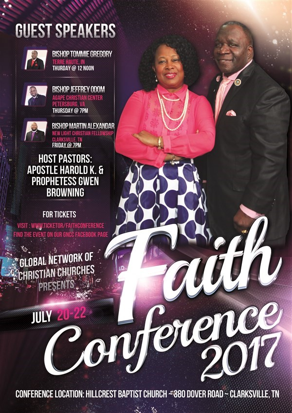 Get Information and buy tickets to Faith Conference 2017  on www.ticketor.com/faithconference