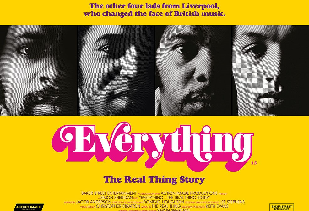 IOM PREMIERE SCREENING OF EVERYTHING: THE REAL THING STORY  on Jan 31, 19:30@Erin Arts Centre - Buy tickets and Get information on RS PROMOTIONS