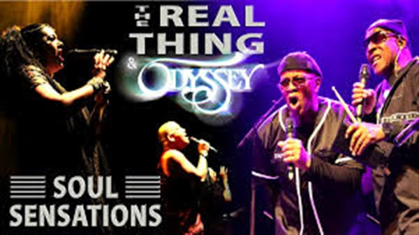THE REAL THING and ODYSSEY 7O's & 80's SOUL SENSATIONS Live!  Plus After Show Disco on Oct 15, 19:30@Riva Showbar Preston - Buy tickets and Get information on RS PROMOTIONS