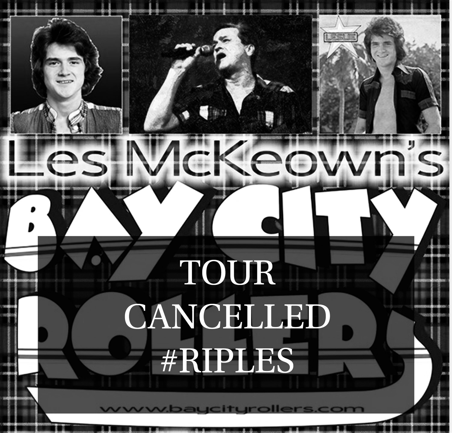 Les McKeown's Bay City Rollers at Riva Showbar, Preston,Lancs Plus Aftershow DJ Music Set on Oct 08, 19:30@Riva Showbar Preston - Buy tickets and Get information on RS PROMOTIONS