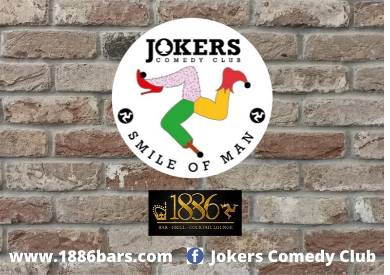 Get Information and buy tickets to JOKERS Comedy Club at 1886 Douglas IOM 1st Sept 2021  on RS PROMOTIONS
