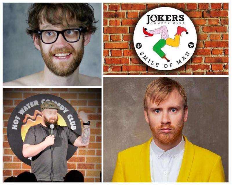 Get Information and buy tickets to Jokers Comedy Club at Bar George in Douglas IOM on 3rd Nov  on RS PROMOTIONS