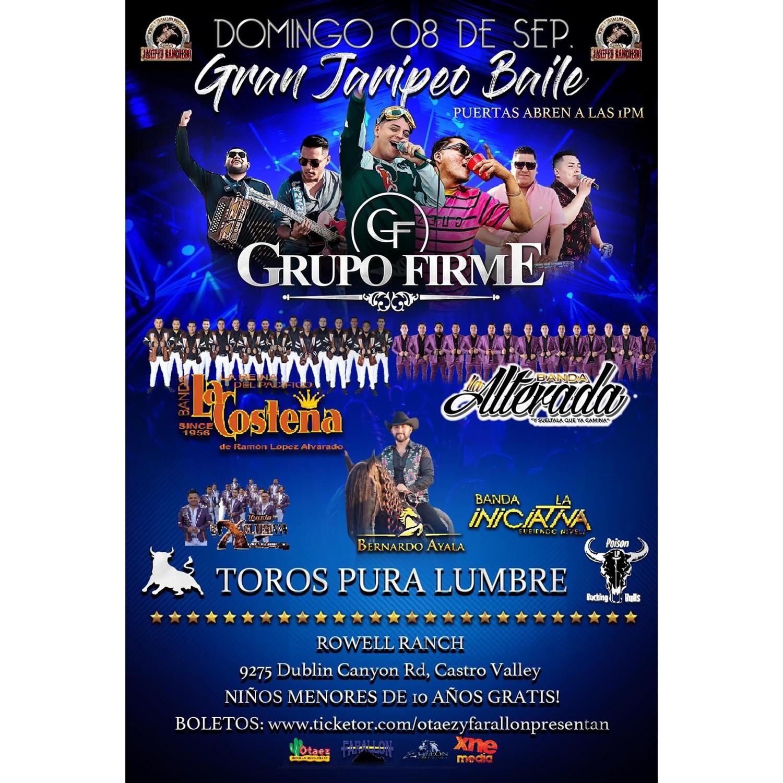 Gran Jaripeo Baile | Domingo 08 De Septiembre