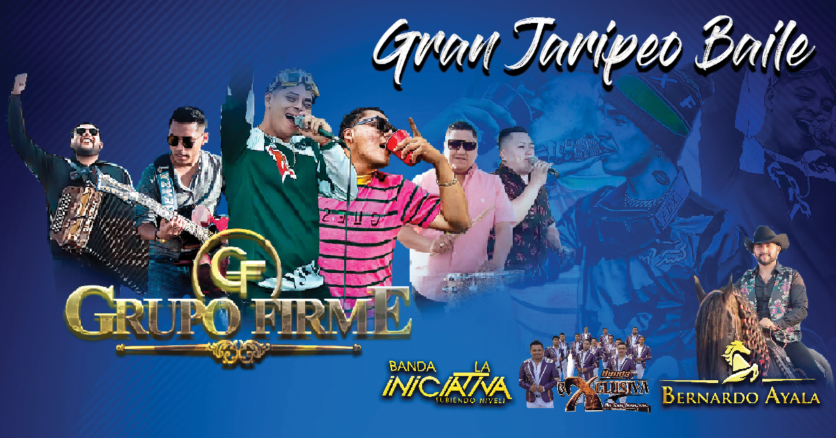 Gran Jaripeo Baile | Domingo 08 De Septiembre Grupo Firme on Sep 08, 13:00@Rowell Ranch - Buy tickets and Get information on otaezyfarallonpresentan otaezyfarallonpresentan