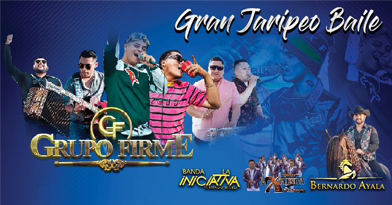 Get Information and buy tickets to Gran Jaripeo Baile | Domingo 08 De Septiembre Grupo Firme on T45