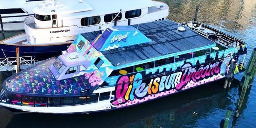NYC Floating Art Gallery Yacht Party Cruise Skyport Marina NYC Floating Art Gallery Yacht Party Cruise Skyport Marina on May 10, 23:45@Artboat NYC - Buy tickets and Get information on GametightNY