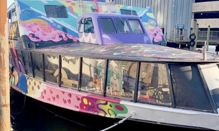 NYC Floating Art Gallery Yacht Party Cruise at Skyport NYC Floating Art Gallery Yacht Party Cruise at Skyport on May 11, 23:45@Artboat NYC - Buy tickets and Get information on GametightNY