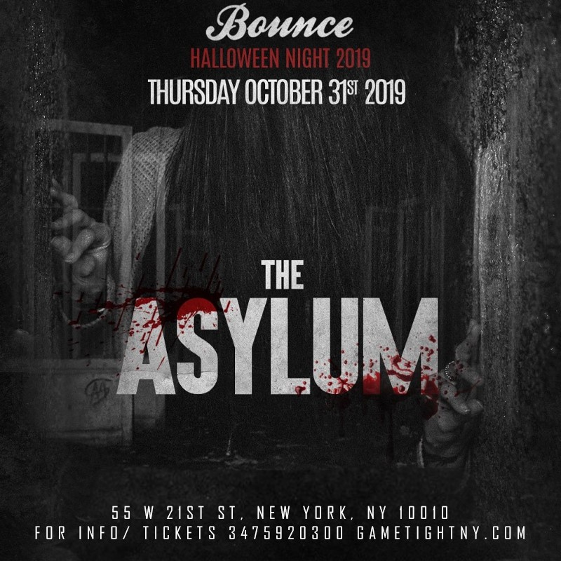 Bounce NYC Halloween night Party 2019  on Oct 31, 22:00@Bounce NYC - Buy tickets and Get information on GametightNY