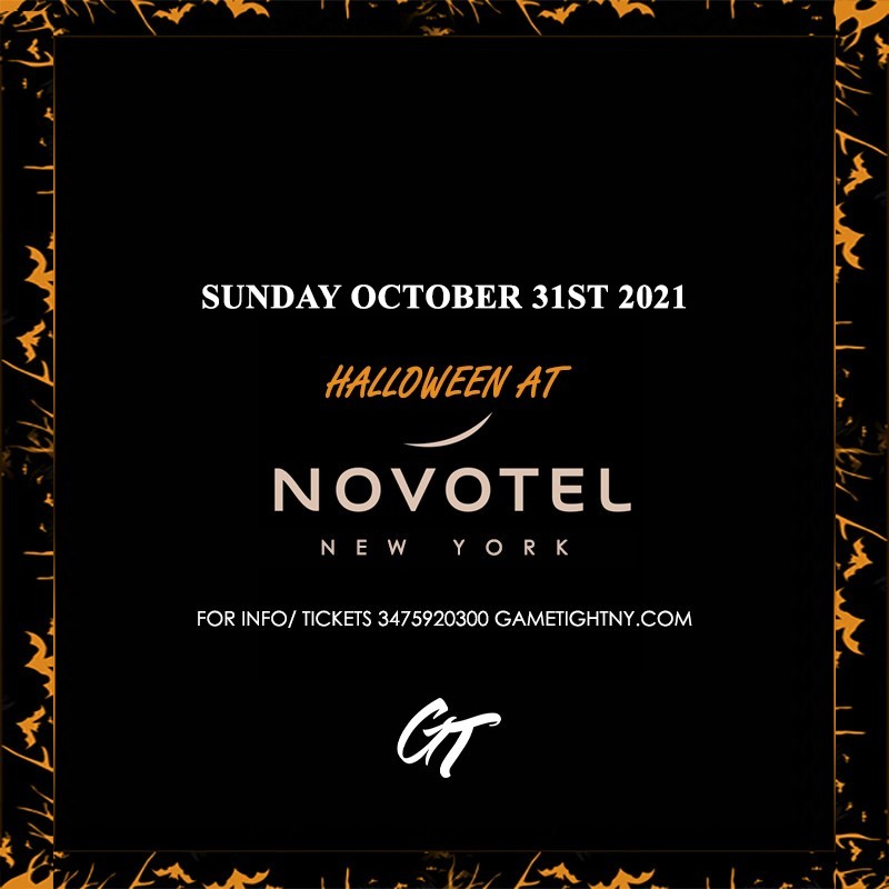 Novotel Rooftop Halloween party 2021  on Oct 31, 17:00@Novotel - Buy tickets and Get information on GametightNY