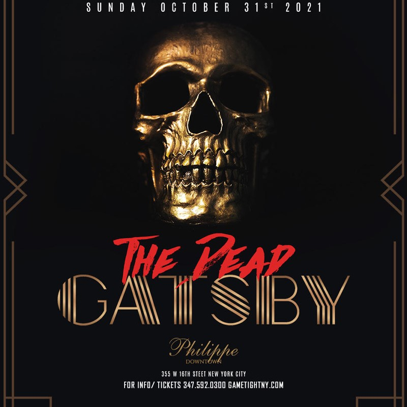 Philippe Downtown NYC Halloween Sunday Brunch & Day Party 2021  on Oct 31, 15:00@Philippe Downtown NYC - Buy tickets and Get information on GametightNY