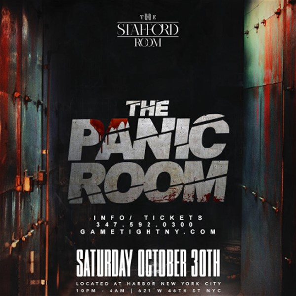 The Stafford Room Halloween Saturday Night Party 2021  on Oct 30, 22:00@The Stafford Room at Harbor NYC - Buy tickets and Get information on GametightNY
