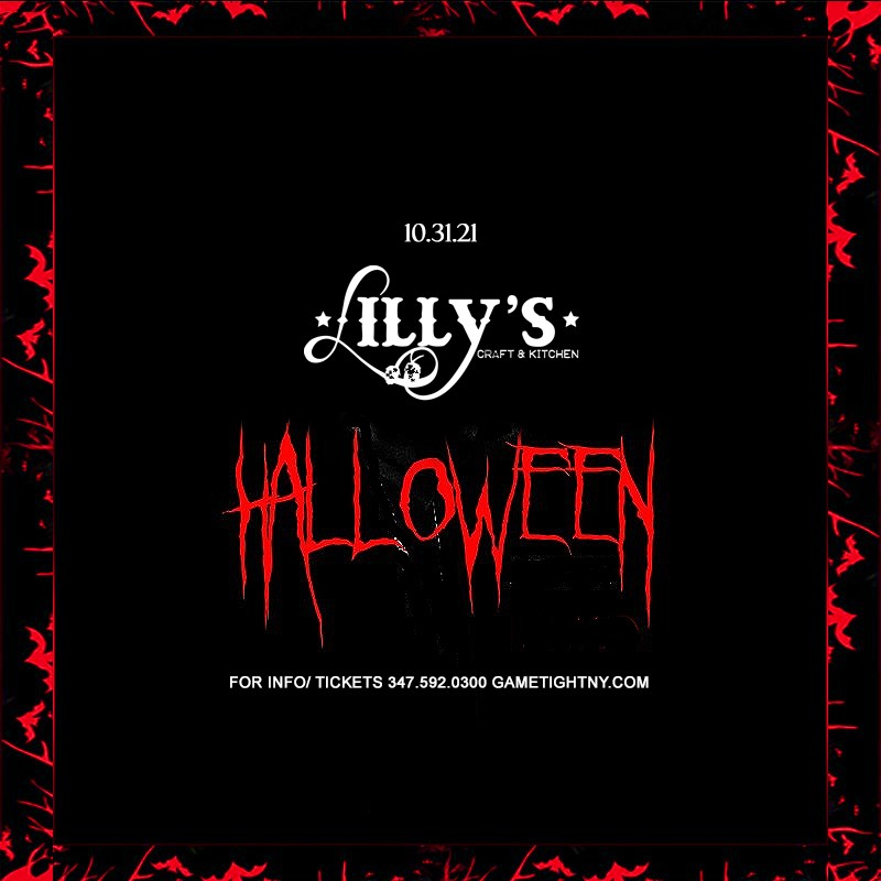 Lilly's Craft and Kitchen NYC Halloween 2021  on Oct 31, 17:00@Lilly's Craft and Kitchen NYC - Buy tickets and Get information on GametightNY