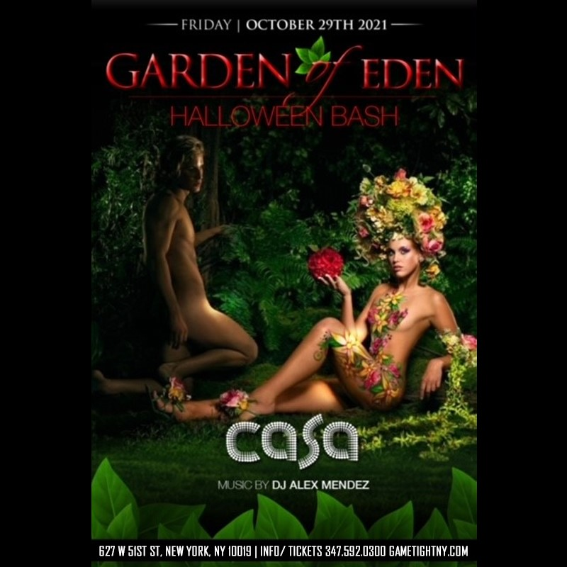 Casa 51 NYC Friday Halloween Costume party 2021  on Oct 29, 22:30@Casa 51 - Buy tickets and Get information on GametightNY