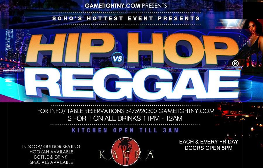Katra Lounge Thanksgiving NYC Hip Hop vs Reggae® Remix Fridays  on Nov 26, 17:00@Katra Lounge - Buy tickets and Get information on GametightNY