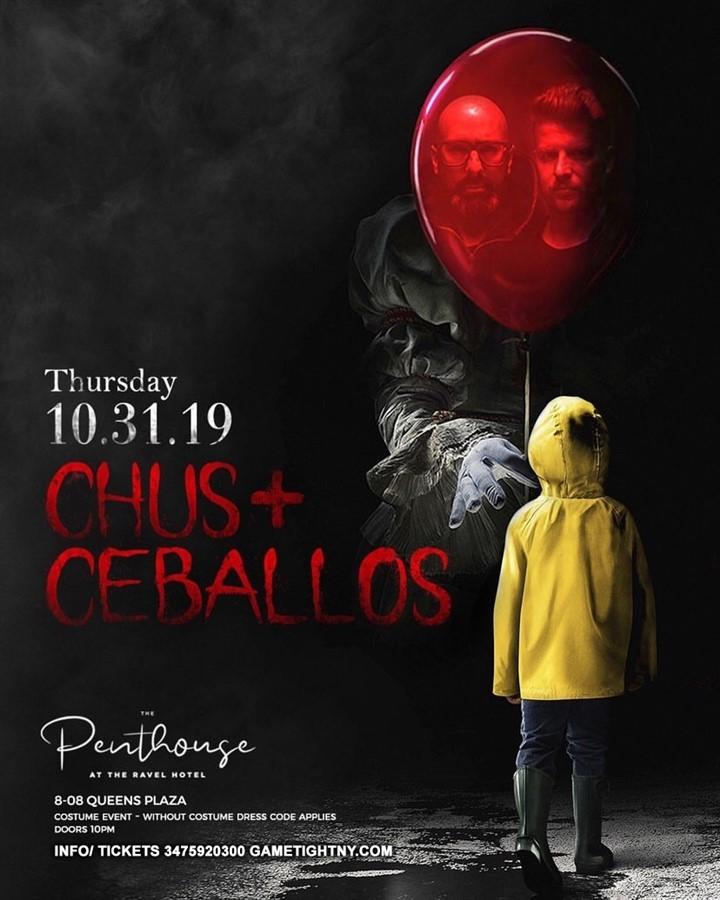 Get Information and buy tickets to Chus Ceballos Halloween at Ravel Penthouse 808 2019 Chus Ceballos Halloween at Ravel Penthouse 808 2019 on GametightNY
