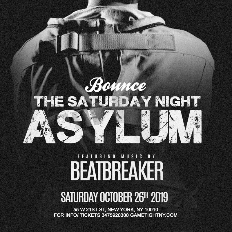 Get Information and buy tickets to Bounce NYC Halloween Saturday Night 2019  on GametightNY