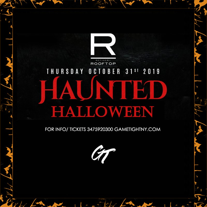 Get Information and buy tickets to Refinery Rooftop NYC Halloween party 2019 Refinery Rooftop NYC Halloween party 2019 on GametightNY