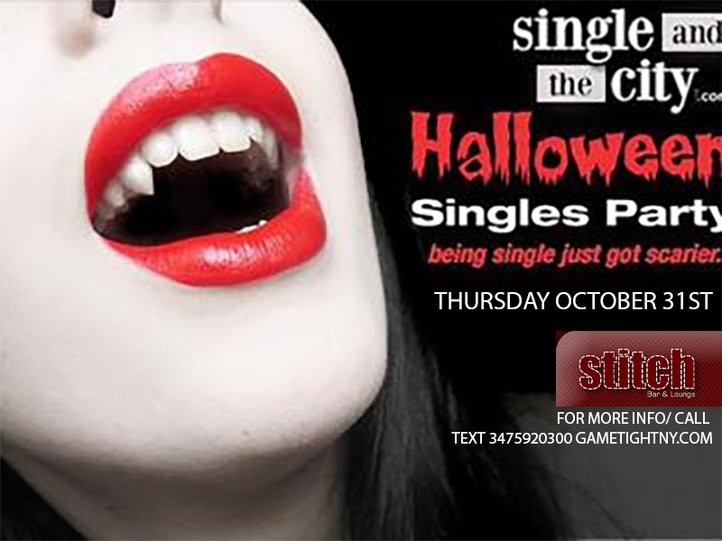 Get Information and buy tickets to Stitch NYC Singles Halloween Party 2019 Stitch NYC Singles Halloween Party 2019 on GametightNY