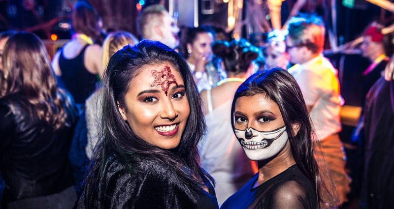 Get Information and buy tickets to Skyroom NYC 40s & Over Halloween Penthouse Party 2019 Skyroom NYC 40s & Over Halloween Penthouse Party 2019 on GametightNY