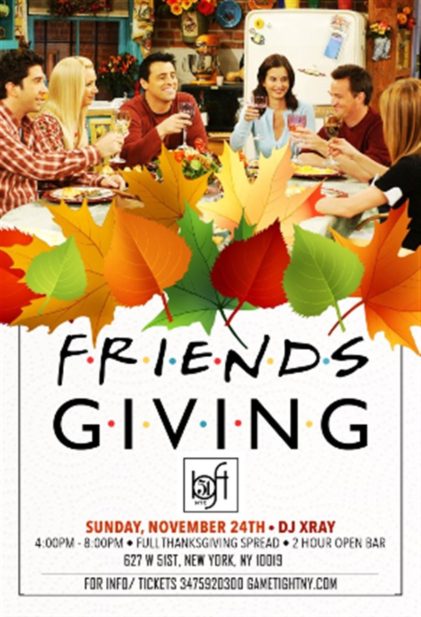 Get Information and buy tickets to Loft 51 NYC 2 Hr Openbar & Buffet Friendsgiving party 2019 Loft 51 NYC 2 Hr Openbar & Buffet Friendsgiving party 2019 on GametightNY