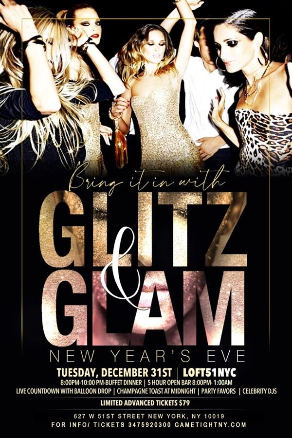 Get Information and buy tickets to Loft 51 NYC 5 Hour Openbar & Buffet NYE 2020 Loft 51 NYC 5 Hour Openbar & Buffet NYE 2020 on GametightNY