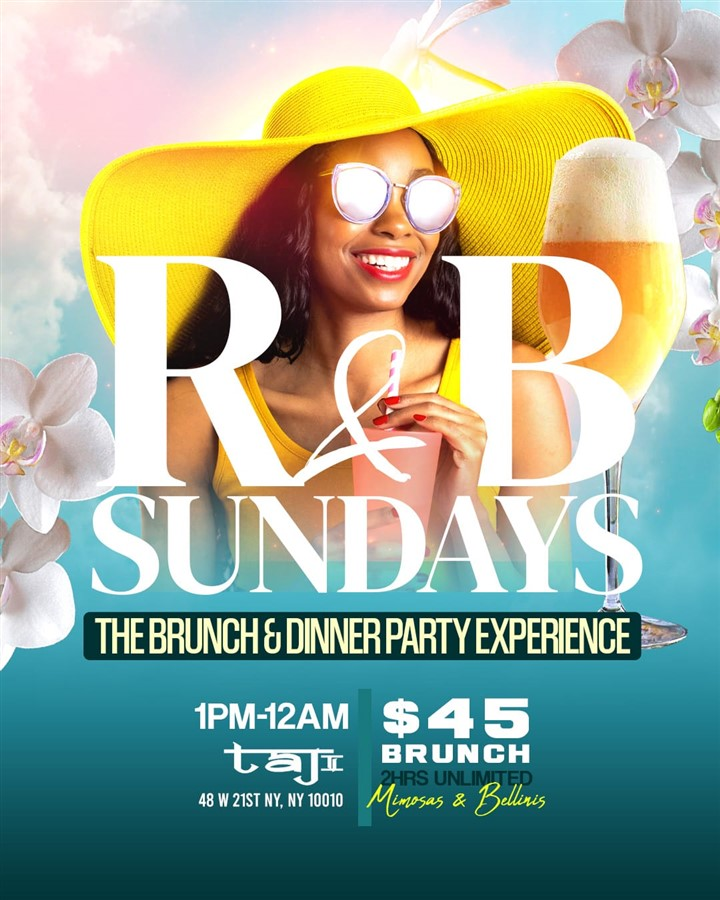 Get Information and buy tickets to Taj Lounge Brunch on Sunday 2021  on GametightNY