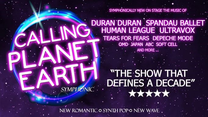 Get Information and buy tickets to Calling Planet Earth - A New Romantic Symphony with after show bar on Sutton Coldfield Town Hall
