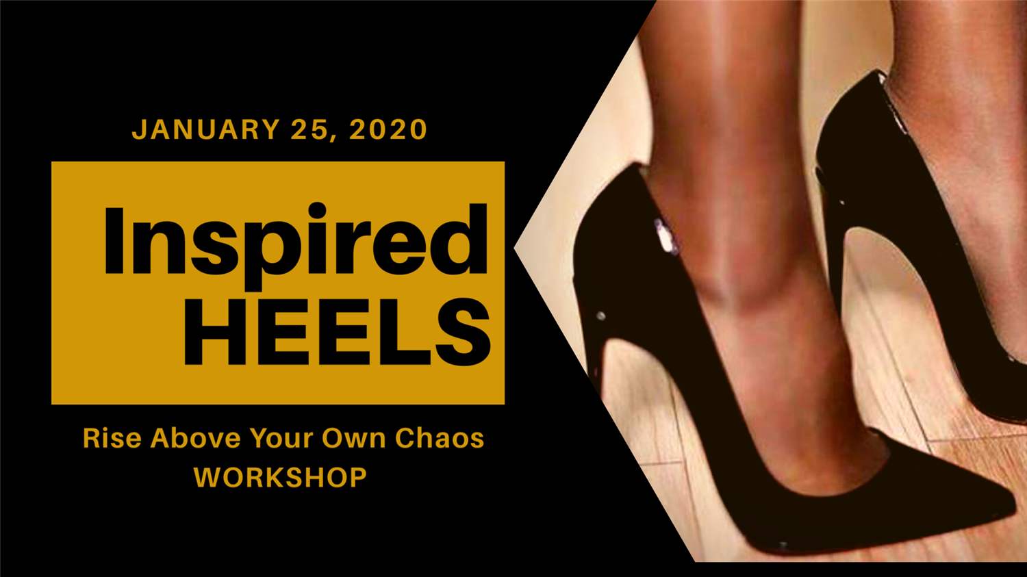 Inspired HEELS Rise Above Your Own Chaos on Jan 25, 09:00@Premier Inn Sheffield City Centre - Buy tickets and Get information on www.gincigaz.com