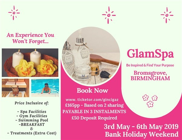 Get Information and buy tickets to GlamSpa 2019  on www.gincigaz.com