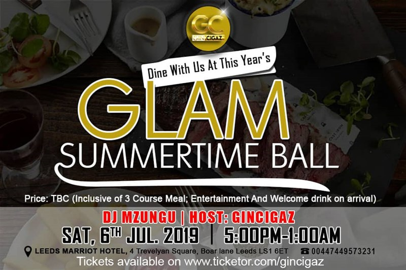 Get Information and buy tickets to Glam Summertime Ball  on www.gincigaz.com