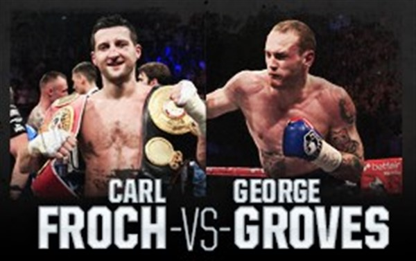 Get Information and buy tickets to Froch v Groves 11 The rematch on Football solutions