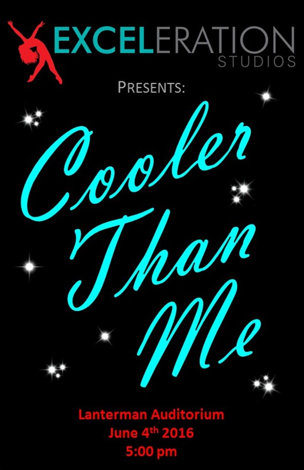 "Get Information and buy tickets to Exceleration Studios 2016 Dance Recital ""Cooler Than Me"" on Exceleration Studios, Inc."