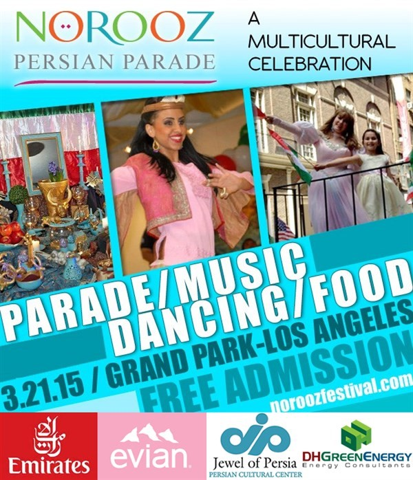 Get Information and buy tickets to NOROOZ PERSIAN PARADE FREE ADMISSION on Irani Ticket